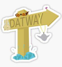 Migos - Datway Sticker
