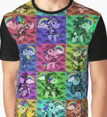 Fantasy Unicorn Pattern Graphic T-Shirt