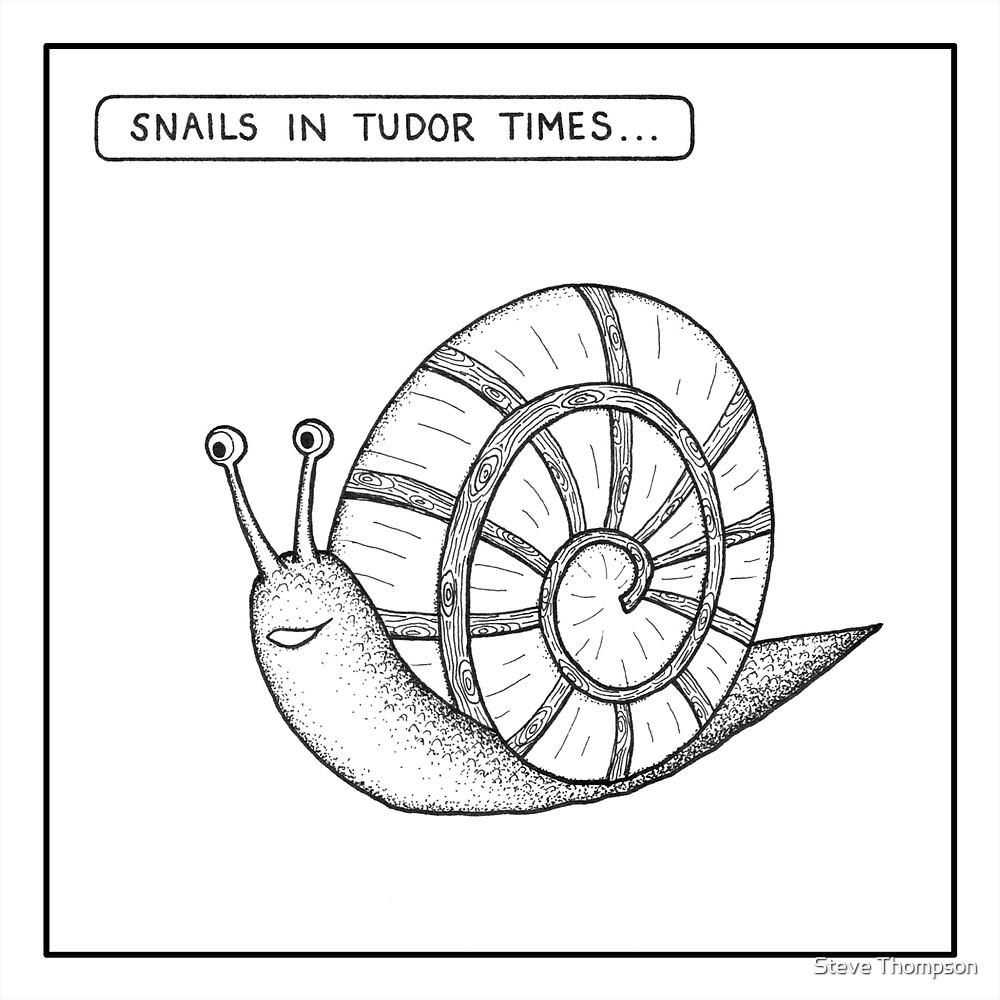 Snails in Tudor times by Steve Thompson