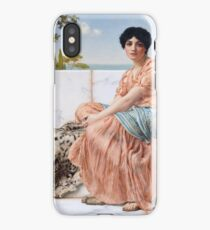 In the Days of Sappho -  John William Godward - 1904 iPhone Case/Skin
