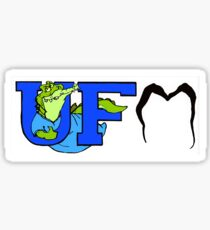 Gator Dentist fan Sticker