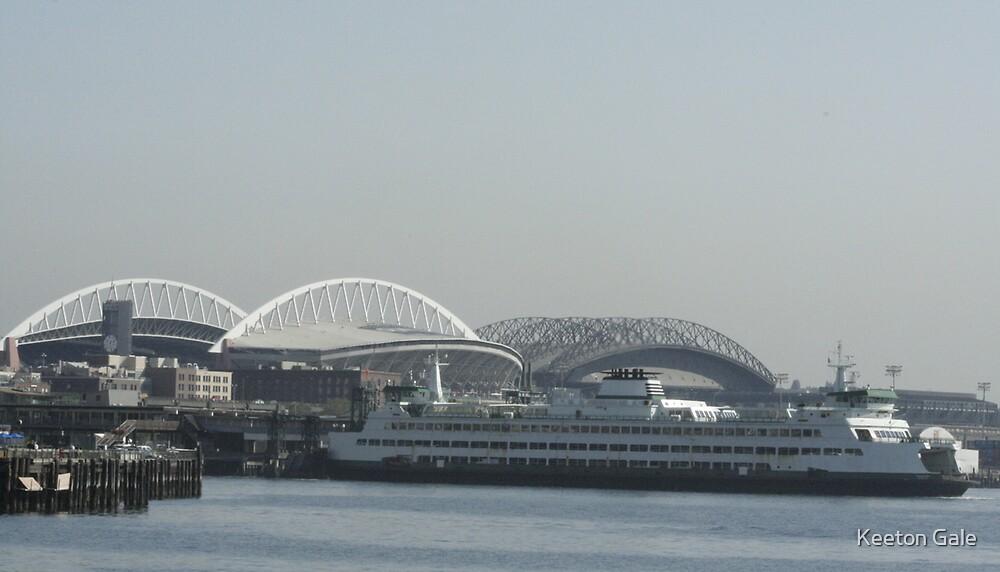 Seattle skyline by Keeton Gale
