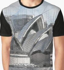 Sydney Opera House III Graphic T-Shirt