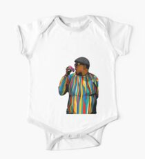 Doughnut Biggie smalls One Piece - Short Sleeve
