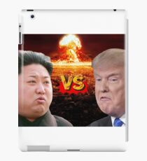 Donald Trump VS Kim Jong Un iPad Case/Skin