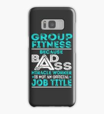 Group Fitness Samsung Galaxy Case/Skin