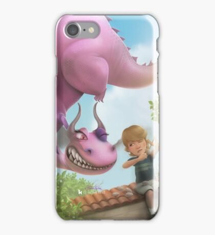 Girlie Dragon iPhone Case/Skin