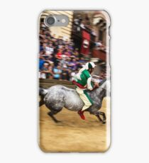 Palio horse race Siena, Italy iPhone Case/Skin