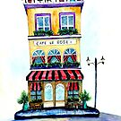 Cafe Le Rose by Autumn Linde