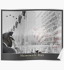 Memorial Day Remembrance Poster