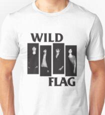 wild flag weiss carrie brownstein Unisex T-Shirt