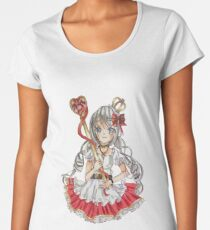 Manga girl Women's Premium T-Shirt