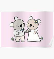 Koala Wedding Poster