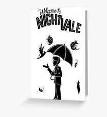 nightvale Greeting Card