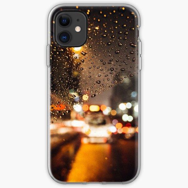 Rainy window iPhone Soft Case