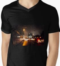 Rainy window Men's V-Neck T-Shirt
