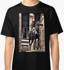Glasgow classic - Duke of Wellington and his horse with the cones Classic T-Shirt
