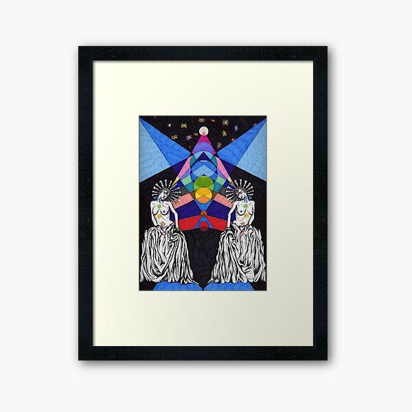Chakra Framed Art Print