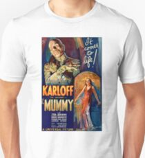 Classic Horror Series - The Mummy. Unisex T-Shirt