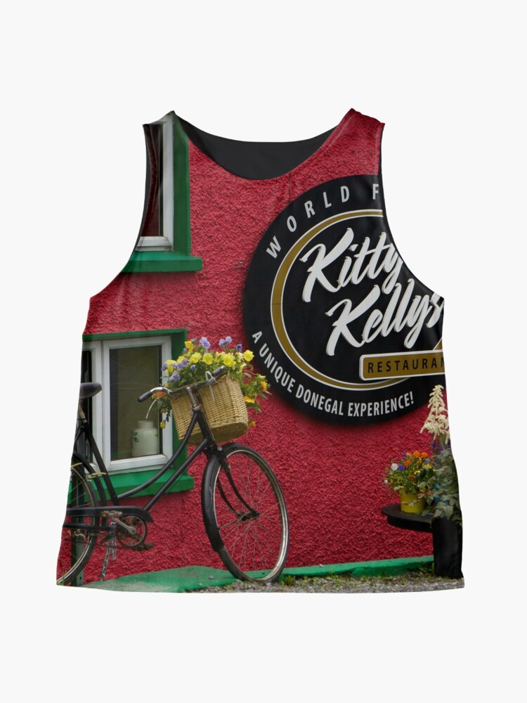 Alternate view of Kitty Kelly's restaurant, Donegal - wide Sleeveless Top