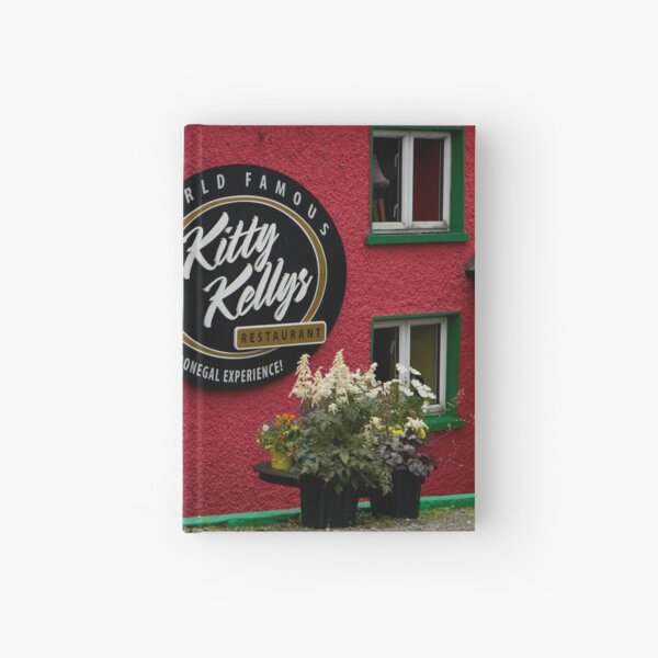 Kitty Kelly's restaurant, Donegal - wide Hardcover Journal