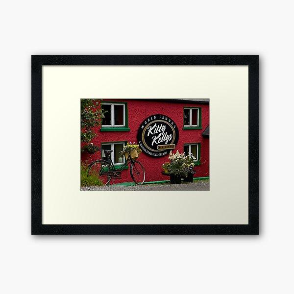 Kitty Kelly's restaurant, Donegal - wide Framed Art Print
