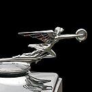 "1932 Packard 900 Light Eight Four Door Sedan ""The Goddess Of Speed"" Hood Ornament by TeeMack"