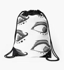 Left Eye Drawstring Bag