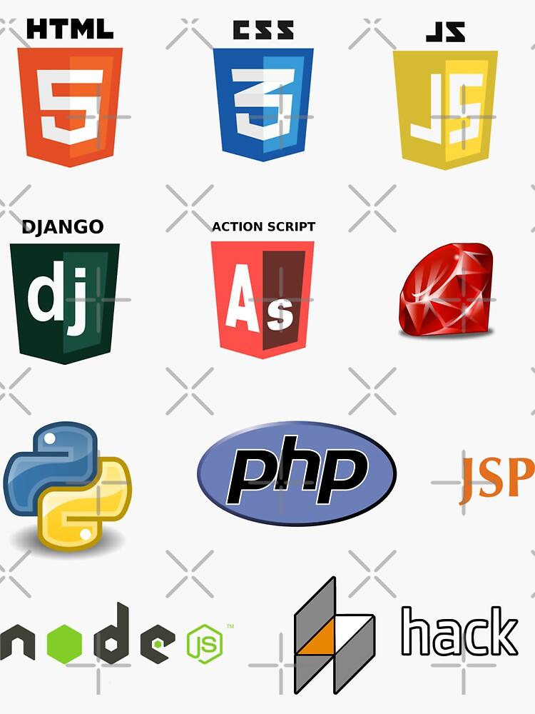 web developer programming language set de yourgeekside