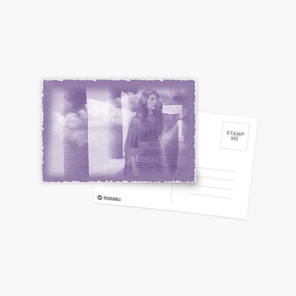 Longing, digital montage Postcard