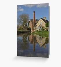 The Slaughters, Gloucstershire Greeting Card