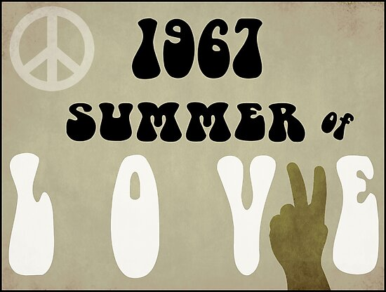 Summer of Love Headline 1967 by mindydidit