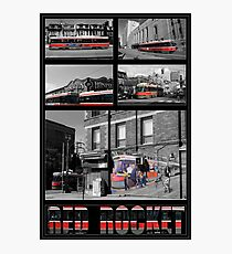 Red Rocket 30 Photographic Print