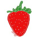 Strawberry von Barbara Baumann Illustration