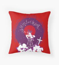 red night vale Throw Pillow