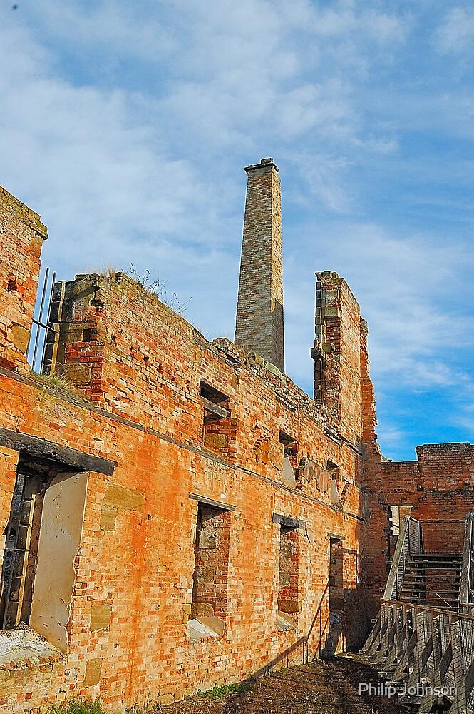 Hard Labour - Port Arthur Historic Site, Tasmania Australia by Philip Johnson