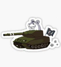 Hamster tank Sticker