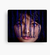 Piercing Eyes Canvas Print