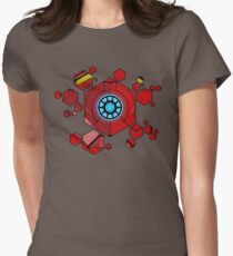 Iron Armour - Hex Women's Fitted T-Shirt