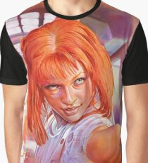 Leeloo - The Fifth Element Graphic T-Shirt