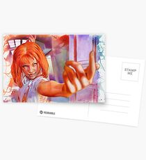 Leeloo - The Fifth Element Postcards
