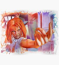 Leeloo - The Fifth Element Poster