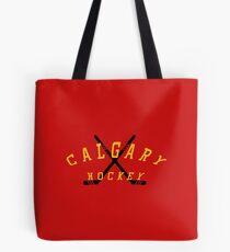 Calgary Hockey Tote Bag