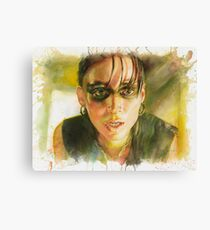 Lisbeth Salander, The Girl with the Dragon Tattoo Canvas Print