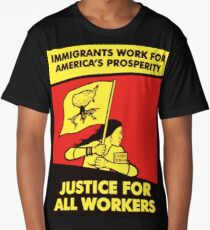 justice for all workers Long T-Shirt