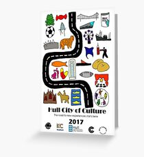 Hull City of Culture Greeting Card