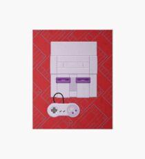 Retro Purple 16-bit Champion Art Board