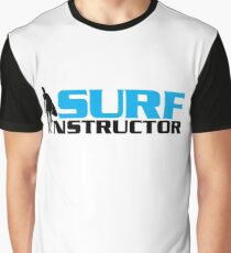 Surf Instructor Graphic T-Shirt