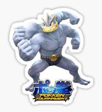 Pokken Tournament Machamp Sticker