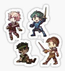 Fire Emblem Echoes - Alm Set Sticker